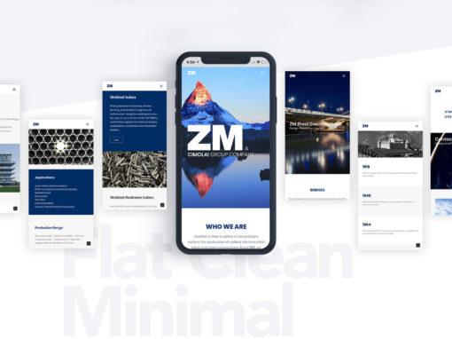 ZM – web design UX/UI